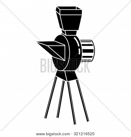 Seed Mixer Aggregate Icon. Simple Illustration Of Seed Mixer Aggregate Vector Icon For Web Design Is