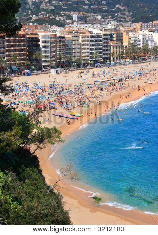 Lloret De Mar Beach (Costa Brava, Spain)