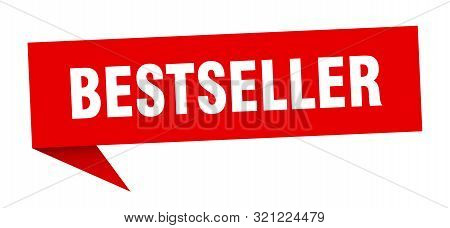 Bestseller Speech Bubble. Bestseller Sign. Bestseller Banner