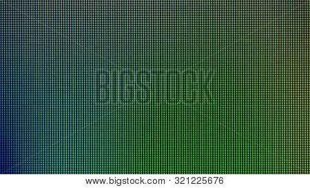 Led Lights Background. Led Monitor Screen Background. Led Texture Background. Abstract Background We