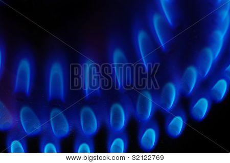 Stove Burner Detail