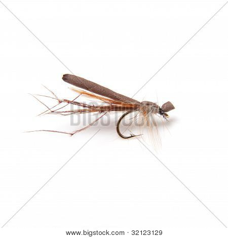 Foam daddy long legs trout fly