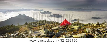 Red Tent On Top