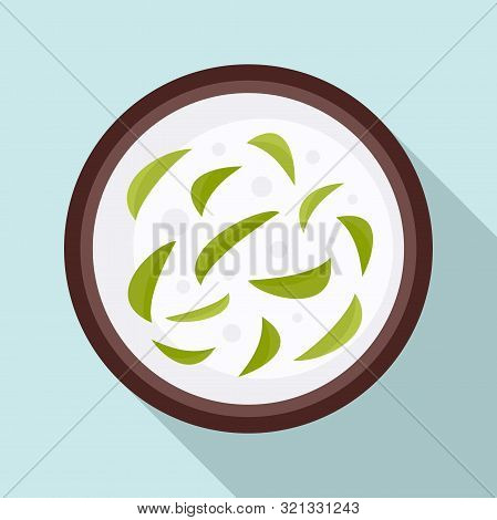 Thai Food Soup Icon. Flat Illustration Of Thai Food Soup Vector Icon For Web Design