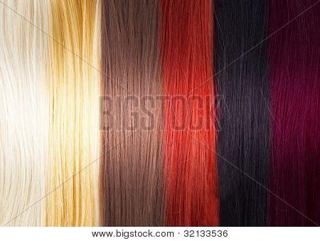 Haar-Farben-palette