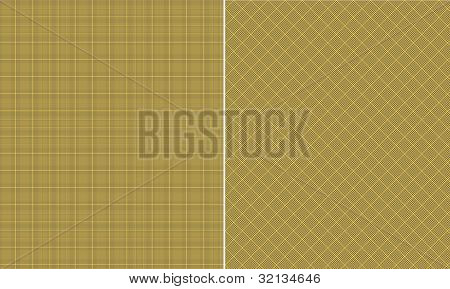 Yellow & Gray Houndstooth Paper Set
