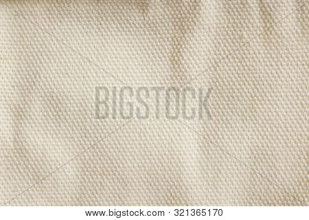 Natural Color Of Febric Pattern, Useful To Beauty Background, To Give A Feeling Soft Comfotable Rela