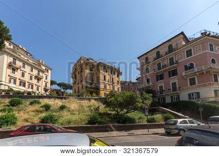 Rome, Italy - June 25, 2017: Basilica Of San Giovanni In Laterano (basilica Di San Giovanni In Later