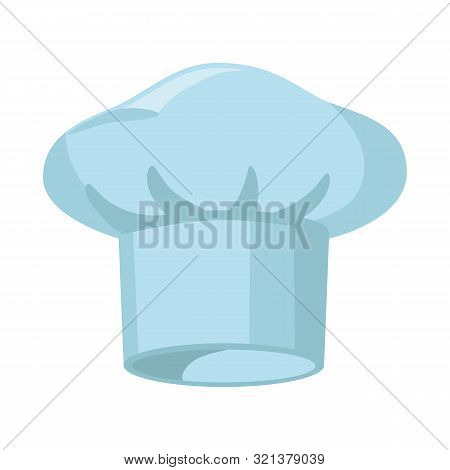 Isolated Object Of Confectioner And Hat Sign. Collection Of Confectioner And Chef Vector Icon For St