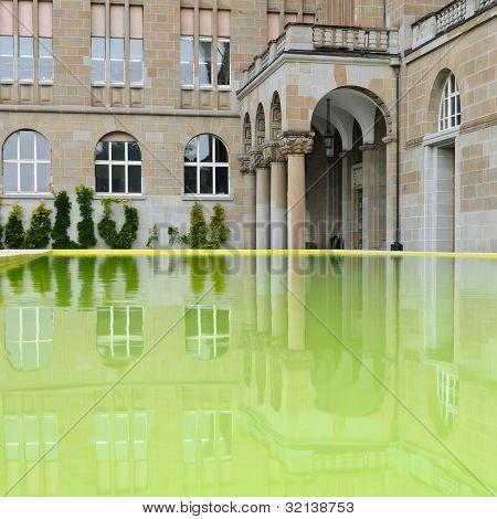 Zurich University Reflection - Detail