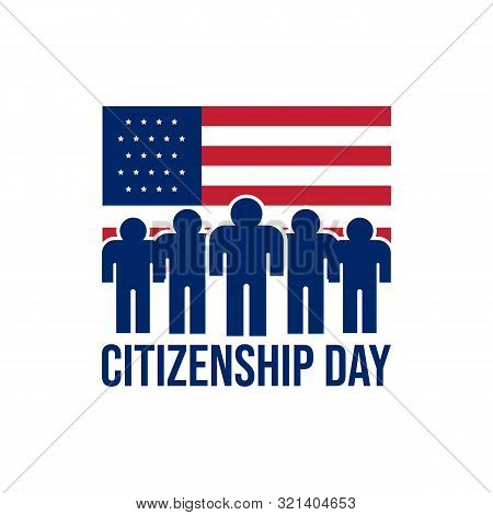 Happy Citizenship Design Vector