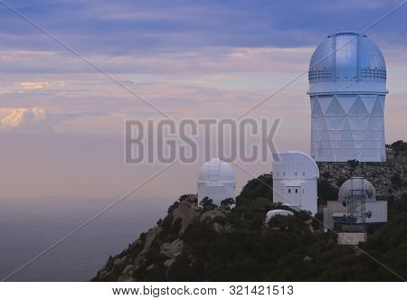 Tucson, Arizona, September 7. Kitt Peak National Observatory On September 7, 2019, Near Tucson, Ariz