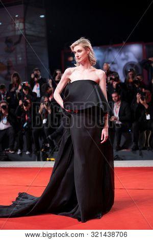 Elizabeth Debicki walks the red carpet ahead of the