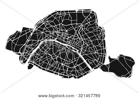 New And Relevant Detailed Map Of Paris