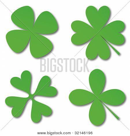 Green Cloverleafs