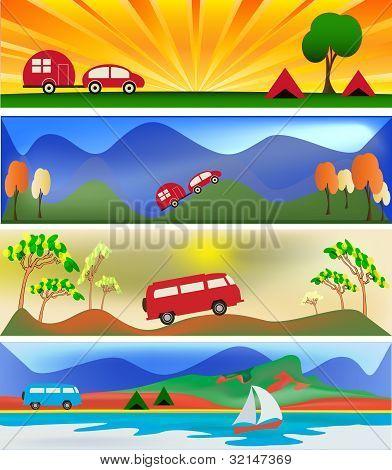Camping And Caravaning