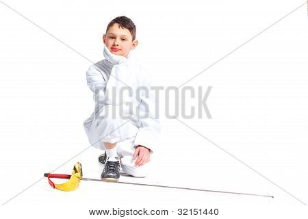 Little fencer