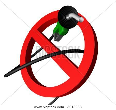 No Gas Pump Angle