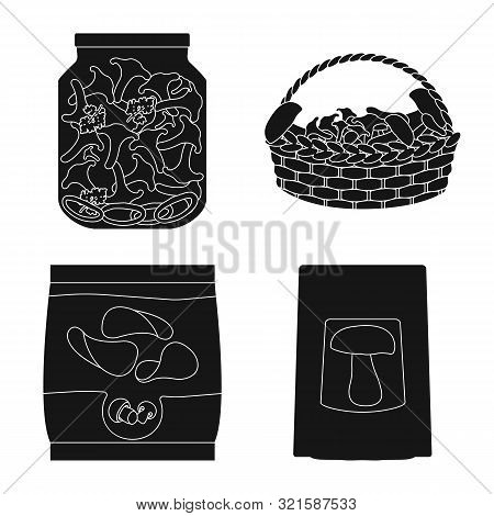 Isolated Object Of Variety And Ingredient Icon. Set Of Variety And Food Vector Icon For Stock.