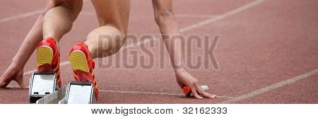 Short distance sprint start
