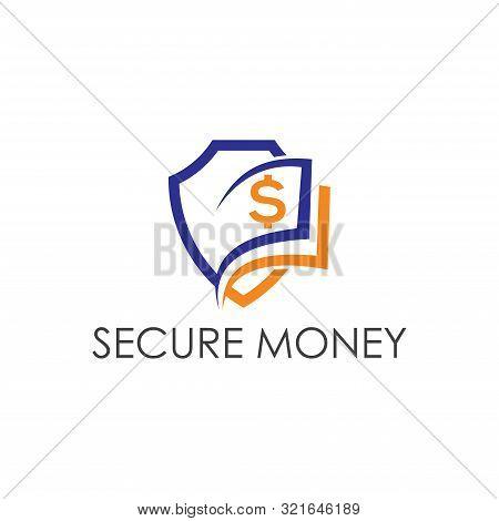 Accounting Logo, Financial Logo Design, Secure Money Logo