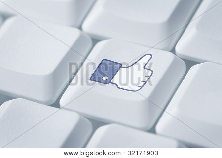 Thumbs Up Or Like Symbol