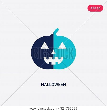 two colored halloween vector icon from birthday party and wedding.