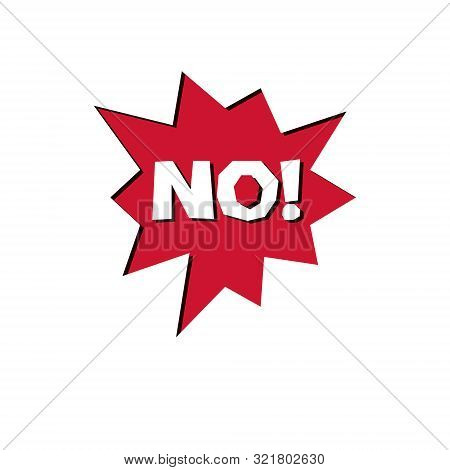 Red No Checkmark Button, Forbidden. Vector Rejection Symbol, Disapproved Isolated On White.
