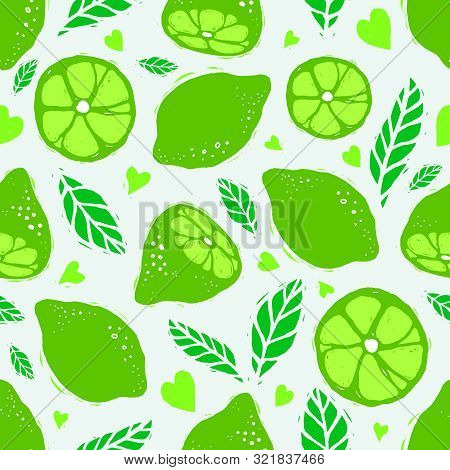 Green Lime Seamless Pattern.eps