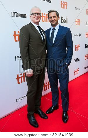 TORONTO - SEPT 9: Josh Lucas (R) and Tracy Letts attend the