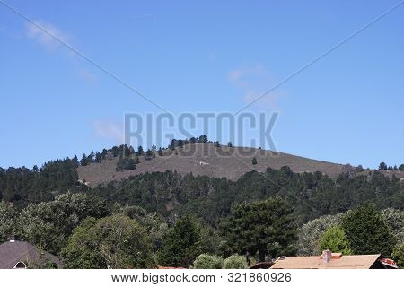 This Is An Image Of The Northern Hills Of Carmel Valley, California.