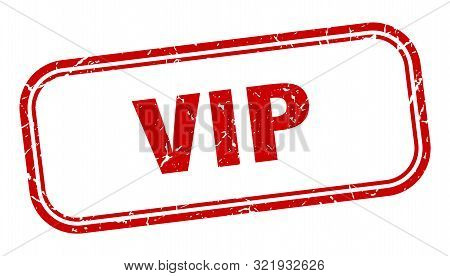 Vip Stamp. Vip Square Grunge Sign. Vip
