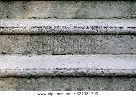 Old Stone Steps Or Stairs Leading Up