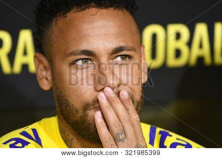 Brazilian Soccer Player Neymar Jr