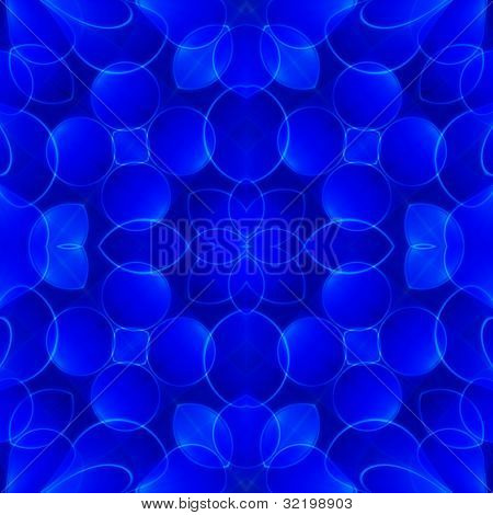 Abstract illustrated powerful and decorative background design