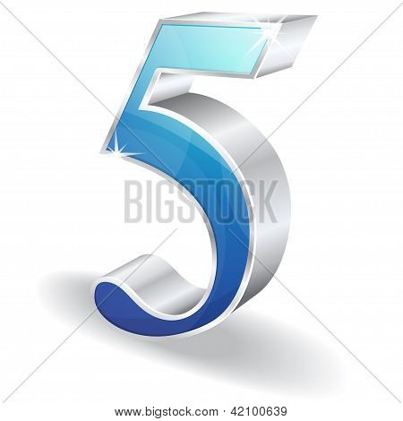 3d Glossy Numbers and Counting Vector