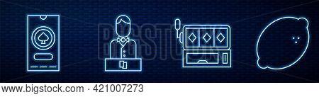 Set Line Slot Machine, Casino Poker Tournament Invitation, Casino Dealer And Casino Slot Machine Wit