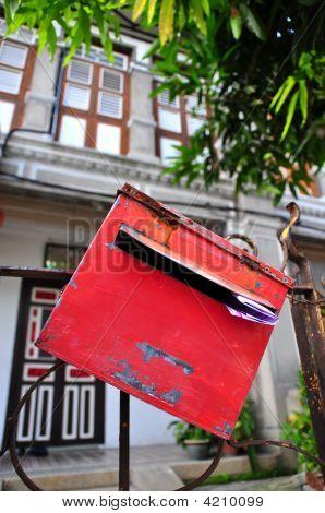 Letter Box Outside House