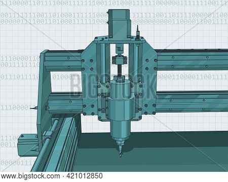 Cnc Machine For 3D Carving