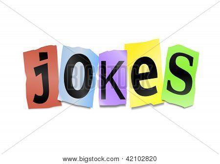 Jokes Concept.