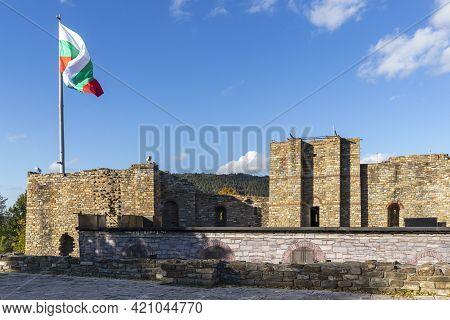 Ruins Of Medieval Stronghold Tsarevets, Veliko Tarnovo, Bulgaria