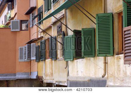 Windows On The Ponte Vecchio