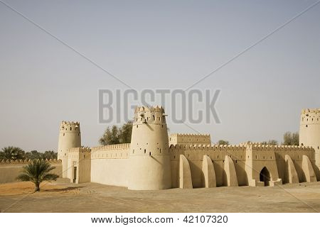 Panoramic view on Al Jahli Fort
