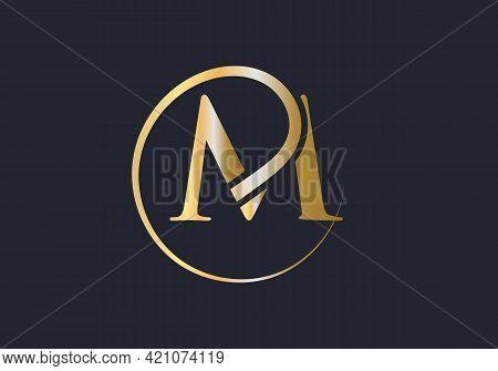 Modern M Logotype For Luxury Branding. Initial M Letter Business Logo Design Vector