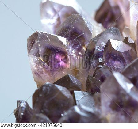 Ametrine .mineral Specimen Stone Rock Geology Gem Crystal