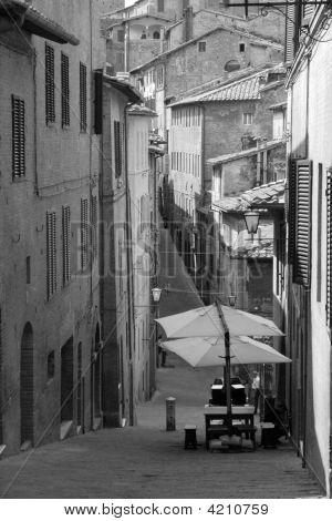 Road In Sienna