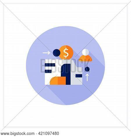 Eam Flat Icon. Enterprise Asset Management.plan, Optimize, Execute, Track Needed Maintenance Activit