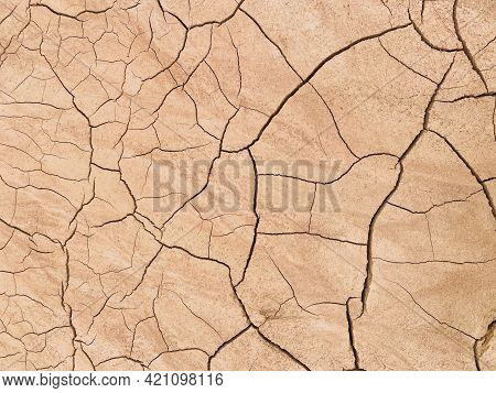 The Texture Of Dry, Cracked, Scorched Earth.