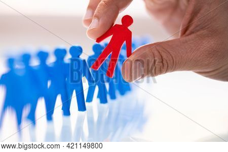 Ideal Client Or Job Candidate Profile Selection And Recruitment