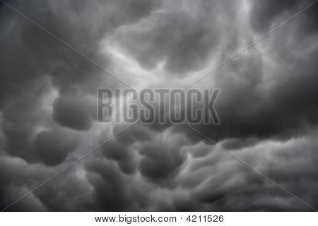 Mammatus Cloud Formation